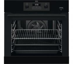 AEG BEB351010B Electric Steam Oven – Black, Black