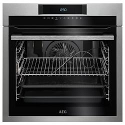 AEG SenseCook BPE642020M Electric Oven – Stainless Steel, Stainless Steel