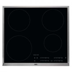 AEG IKB64401XB 60cm Built In Induction Hob in Black Glass