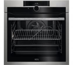AEG SenseCook BPE842720M Electric Oven – Stainless Steel, Stainless Steel
