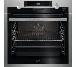 AEG SteamBake BCS551020M Electric Oven – Stainless Steel, Stainless Steel