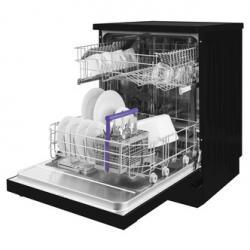 Beko DFN04210B 60cm Dishwasher in Black 12 Place Setting A Rated