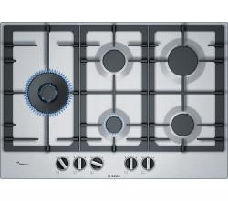 BOSCH Serie 4 PCS7A5B90 Gas Hob – Stainless Steel, Stainless Steel