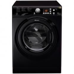 Hotpoint WDPG8640K AQUARIUS Washer Dryer in Black 1400rpm 8kg 6kg