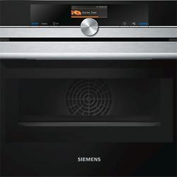Siemens CM656GBS1B Built-in Combination Microwave Oven, Stainless Steel / Black